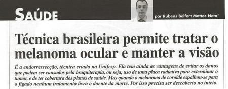 Materia Revista CARAS Rubens Belfort Neto